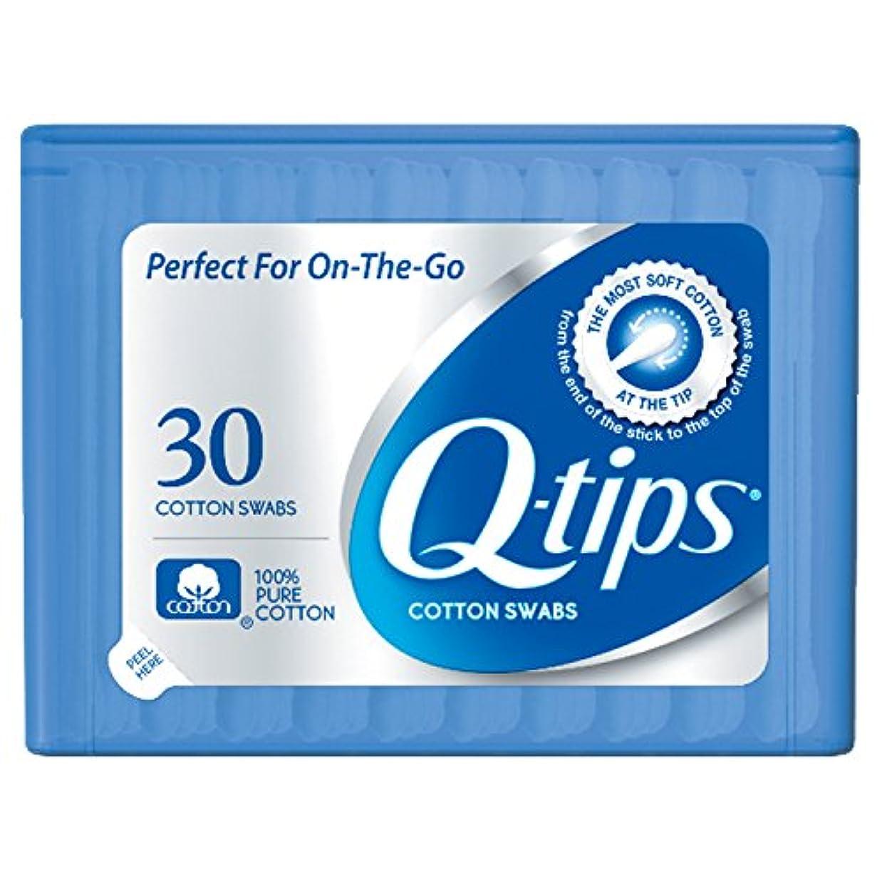乏しい子供時代反抗Q-tips Swabs Purse Pack 30 Each by Q-Tips