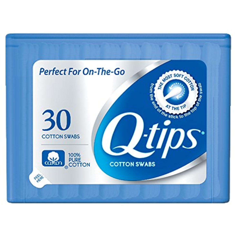 安価な検体電極Q-tips Swabs Purse Pack 30 Each by Q-Tips