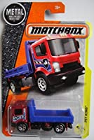 Matchbox 2017 MBX Construction Pit King (Flat Bed Truck) 81/125 Red and Blue [並行輸入品]