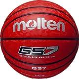 molten(モルテン) バスケットボール GS7 BGS7-RR レッド×レッド 7号球