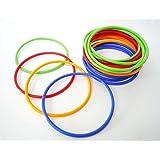 輪投げの輪(20本入り)プラスチック製 1袋