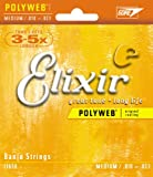 Elixir エリクサー バンジョー弦 POLYWEB Medium #11650 ループエンド仕様 【国内正規品】