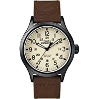 Timex Men's Expedition Scout Brown Strap Watch -from The Argos Shop On