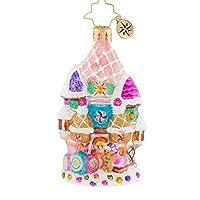 Christopher Radko Candy Castle Christmas Little Gem Christmas Ornament [並行輸入品]
