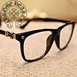 SS016  Bigbang GD ご愛用  メガネ モデル着用 伊達メガネ クロスロゴ オシャレ カジュアル 韓流グッズ EXOメガネ