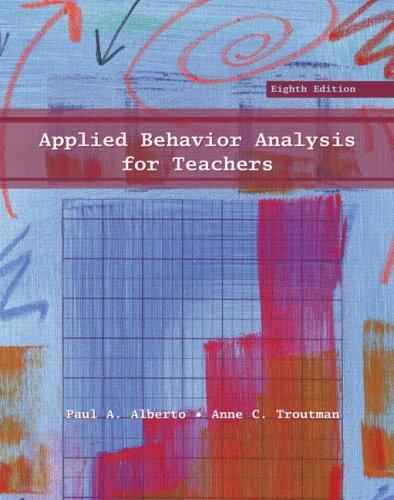 Download Applied Behavior Analysis for Teachers 0131592890