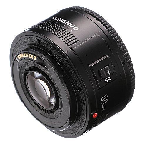 Yongnuo yn50 mm f1.8レンズ大口径オートフォーカスレンズfor Canon EFマウントEOSカメラ