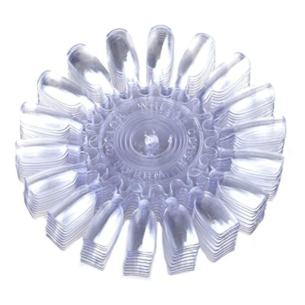 南極想像力信頼性のあるSODIAL 10個 メークアップ化粧ネイル ポーランドカラーカートゥーンカラーチャート 18ディスプレー クリアー