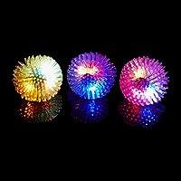 (iSmile) 光る指輪 おもちゃ ピカピカ クリスマス ハロウィン パーティー に大活躍 ふさふさ 8個入り