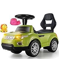 おもちゃに乗って、4 - 1歳から6歳までの男の子と女の子のためのバッテリー駆動の騎乗玩具 - 緑 ( Color : Green )