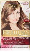 L'Oreal Paris Excellence Permanent Hair Colour - 7.1 Dark Ash Blonde (100% Gr.