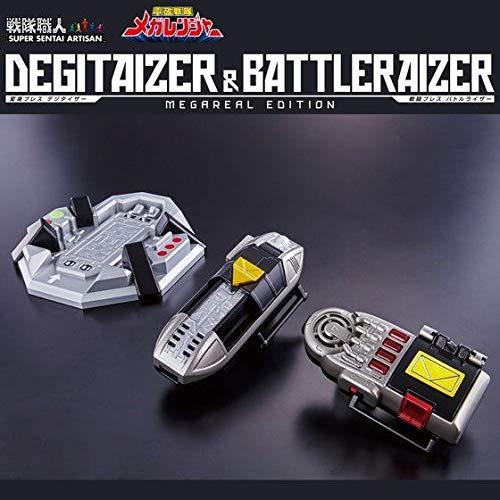 電磁戦隊メガレンジャー 戦隊職人 デジタイザー&バトルライザー MEGAREAL EDITION