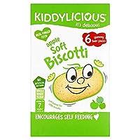 [Kiddylicious] Kiddyliciousリンゴソフトビスコッティの6X20G - Kiddylicious Apple Soft Biscotti 6X20g [並行輸入品]
