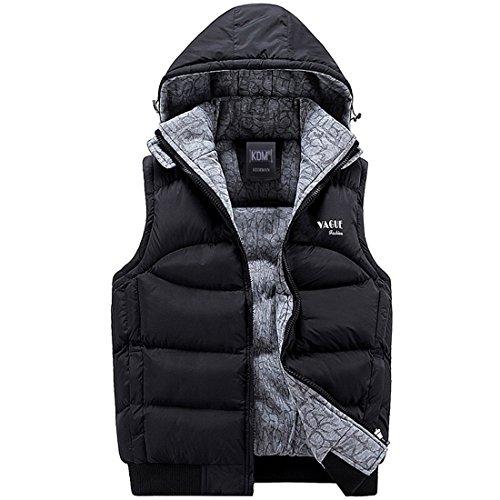 [해외]다운 베스트 후드 남녀 겸용 ME08181/Down vest with hood combined unisex ME08181
