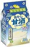 森永製菓 フリーズドライ おうち茶屋 冷やし甘酒 レモン風味 4食×10袋入