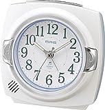 MAG  カペルマ  アラームクロック 目覚まし時計 ホワイト T-712 WH-Z