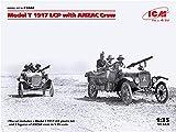 ICM 1/35 アンザック軍 T型フォード 1917 LCP w/アンザッククルー プラモデル 35668