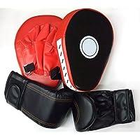 Carennac グローブ 湾曲デザイン ミット セット ボクササイズ ボクシング パンチング トレーニング
