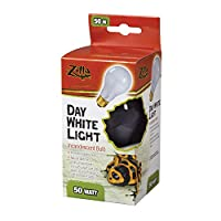 Zilla - Day White Light Incandescent Bulb 50 Watt - 100009908
