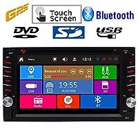 ひるみオペレーティングシステムEinCar GPS容量性タッチスクリーンカーステレオエレクトロニクスマルチメディアダッシュでビデオCDカーPCヘッドユニットの自動DVDプレーヤーAutoradio MP3 MP4ダブルディンラジオのAux RDSは、カメラを逆に+