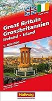 Hallwag Grossbritanien / Great Britain Road Map