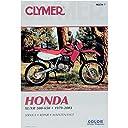 クライマー Clymer マニュアル 整備書 79年-03年 ホンダ XL/XR 500/600 700339 M339-8