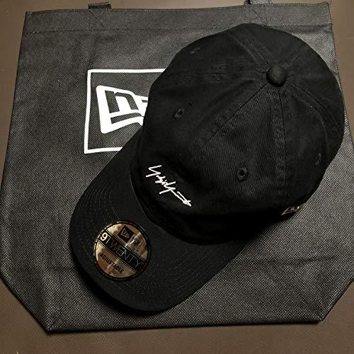 Yohji Yamamoto × NEW ERA ヨウジヤマモト ニューエラ 9TWENTY キャップ コラボ 帽子 ショップバッグ付 (ブラック)