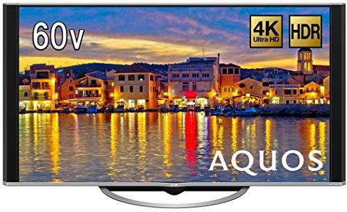 シャープ 60V型 液晶 テレビ AQUOS LC-60UH5 4K 低反射「N-Blackパネル」搭載 Android TV 2017年モデル