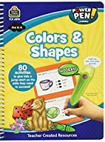 Teacher Created Resources Power Pen Learning Book Colors & Shapes (6895) [並行輸入品]