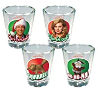 icup national lampoon s christmas vacation color photo shot glass