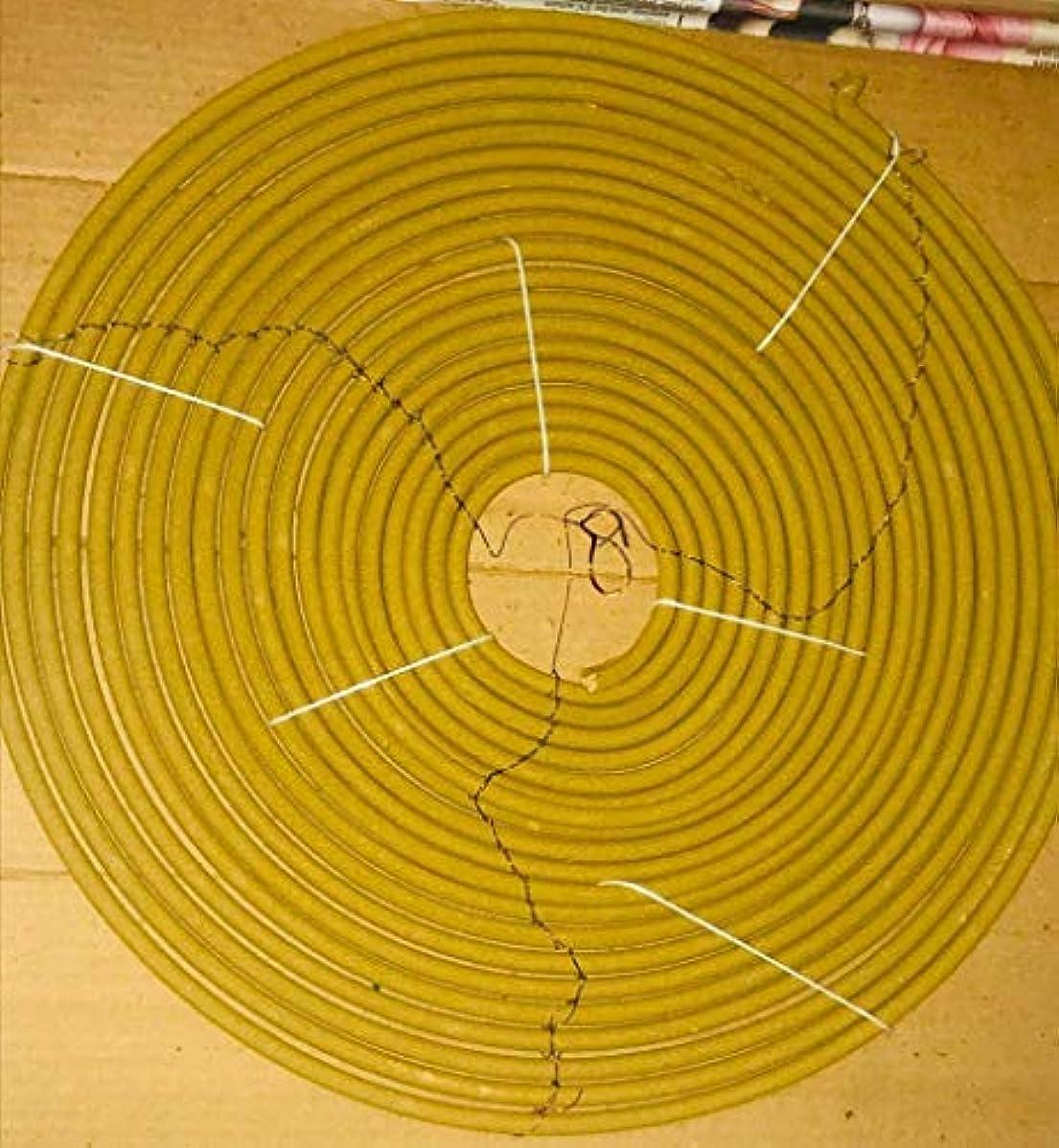 サークル喉頭マディソンSRJ ENTERPRISES Garden Incense COILS AGARBATTI (Sandal)