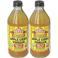 Bragg, オーガニック アップル サイダー(Apple Cider Vinegar) 473 ml (2個セット) [並行輸入品]