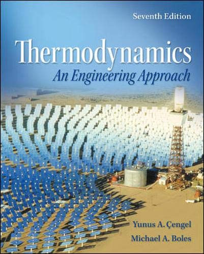 Download Thermodynamics: An Engineering Approach with Student Resources DVD 0077366743