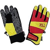 JACKFROST13(ジャックフロスト13)スノーボードグローブ GIMMICK GLOVE 手袋 JFA95000 056273(RED/YELLOW)
