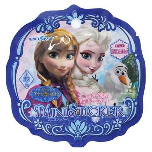 アナと雪の女王[シール]ミニフレークステッカー(32枚入り)ディズニー