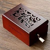 Qinggeレトロ手作り紙オルゴール16構成紙ストリップ14空白の紙ストリップ創造的な誕生日プレゼント