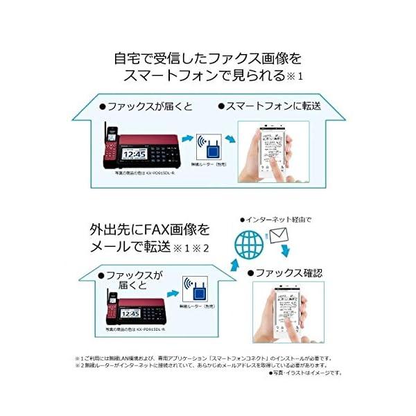 パナソニック デジタルコードレスFAX 子機1...の紹介画像4