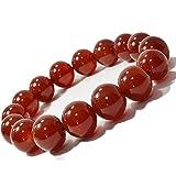 【OMAMORI-DO】赤瑪瑙 ブレスレット 大玉 12ミリ 数珠