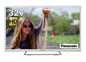 パナソニック 32V型 液晶テレビ VIERA ハイビジョン ホワイト 裏番組録画対応 TH-32ES500-W
