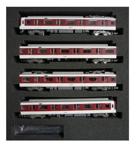 近鉄8600系 前期形 増結4両編成セット(動力無し) 4532