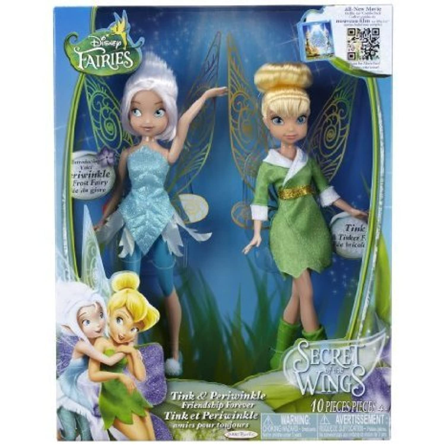 The Disney (ディズニー)Fairies Tink And Periwinkle Friendship Forever Two-Pack, Is A Must-Have For All Disney (ディズニー)Fairies Fans. - Disney (ディズニー)Fairies - Tink and Periwinkle - Friendship Forever - 2 Pack ドール 人形 フィギュア(並行輸入)