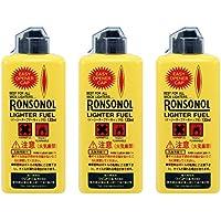 RONSON(ロンソン) ライター用オイル ロンソンオイル 133ml ×3本セット