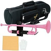 Zeff トランペット プラスチック製 B♭ ZPT-01 ピンク / ブラック
