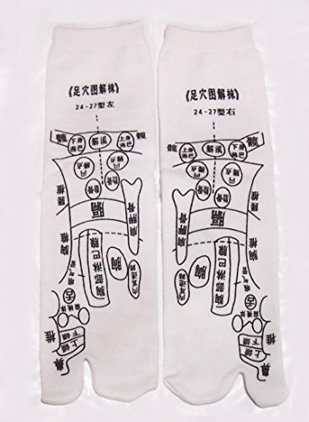 国際美容師満了足っほ靴下 足裏つぼ靴下 足ツボソックス 反射区 プリント くつした ツボ押しやすい 22~26センチ 字は中国語