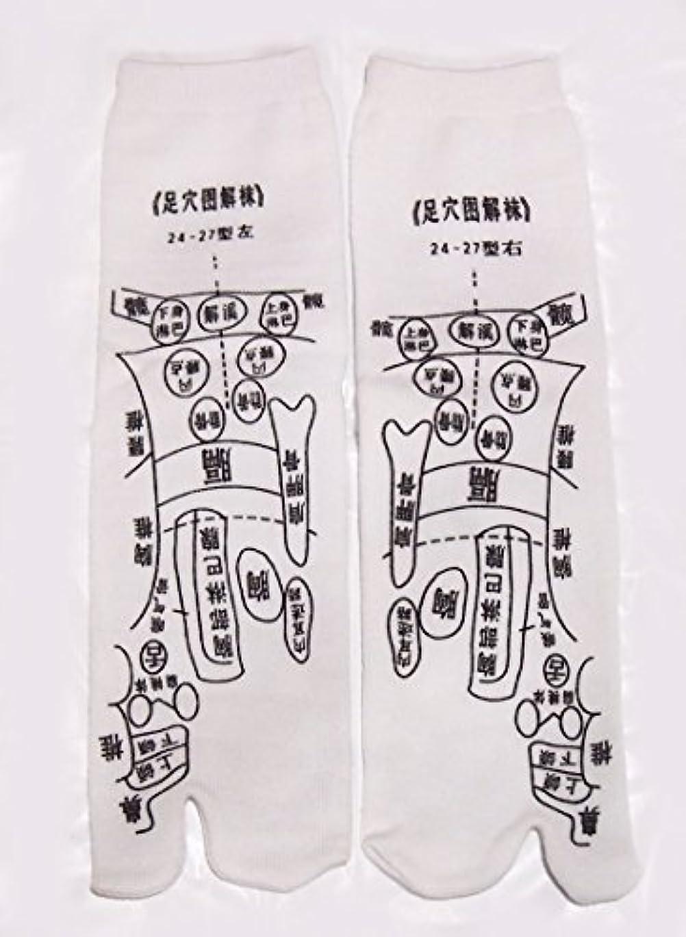 瞑想アンソロジー若者足っほ靴下 足裏つぼ靴下 足ツボソックス 反射区 プリント くつした ツボ押しやすい 22~26センチ 字は中国語