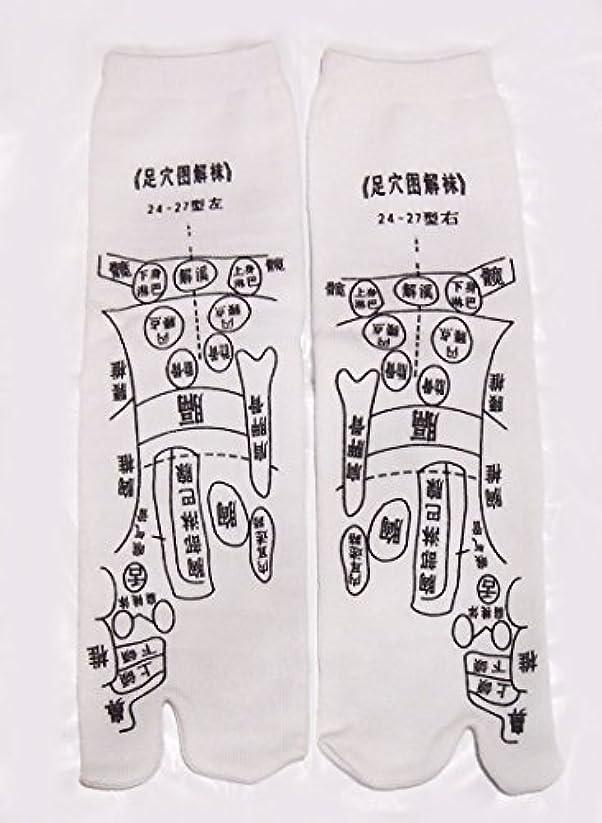 楽観的賭け花に水をやる足っほ靴下 足裏つぼ靴下 足ツボソックス 反射区 プリント くつした ツボ押しやすい 22~26センチ 字は中国語