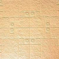 SOOMJ 【10枚】クッションブリック 壁紙シール 防水 防音 断熱 ウォールステッカー レンガタイル 3D おしゃれ 軽量 発泡スチロール風 インテリア リビング 子供部屋 ドリーム