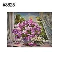 ruixuered-動物の花エルフ部分樹脂ダイヤモンド絵画クロスステッチ家の壁の装飾 - 8625