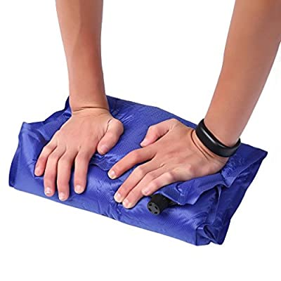 Automatic Inflatable Air Cushion Pillow Portable Outdoor Travel Camping