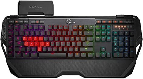 G.Skill Gaming Keyboard, Cherry Red (RIPJAWS KM780 RGB) [並行輸入品]